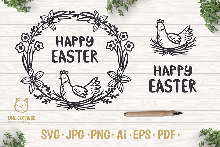 Happy Easter Free File Cover Image