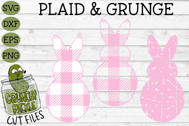 Plaid & Grunge Bunny Cover Image