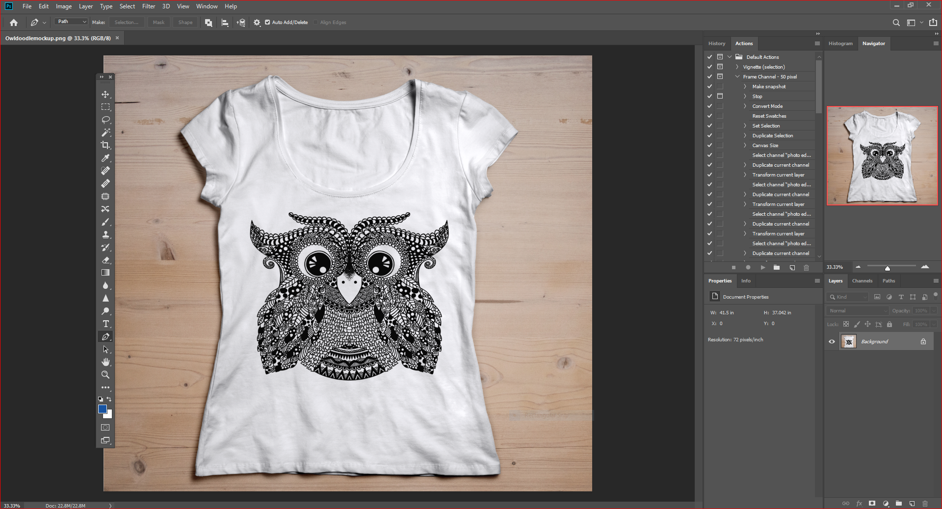 Adobe Illustrator Photo for SVG