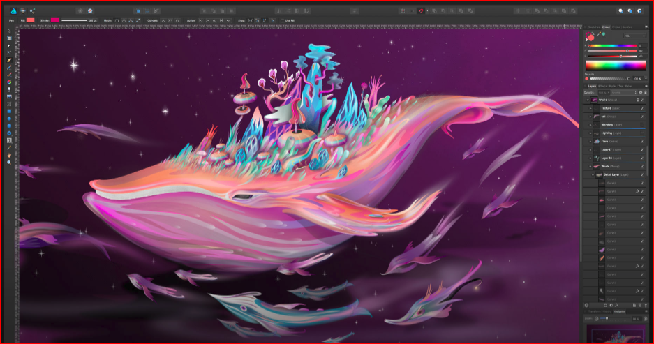 Affinity Designer Photo for SVG