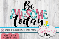 Be Awesome Today Cover Image