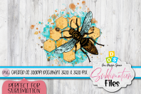 Beehive And a Bee Product Image