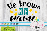 He Knows My Name Sublimation Product Image