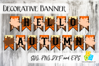 Hello Autumn Banner