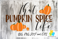 Pumpkin Spice Life Quote