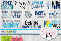 Boy Quotes Bundle
