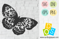 Butterfly1 SVG, DXF, EPS and PNG Cut file
