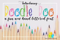 DoodleDoo Font Cover Image
